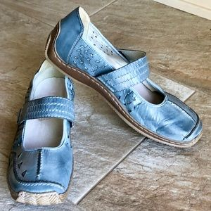 Rieker Ciela 66 Denim Blue May Jane Flat